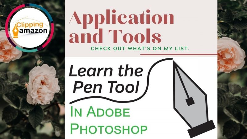 Pen Tool Tutorial, Photoshop   Clipping Path 2021
