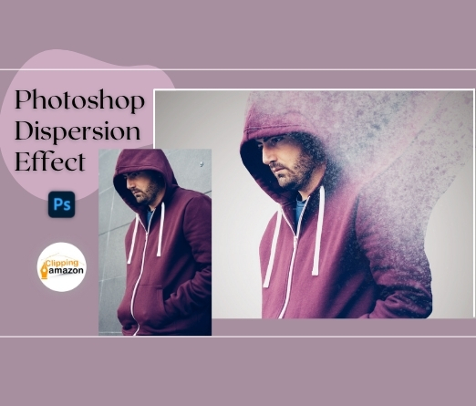 How to Create Dispersion Effect in Photoshop?